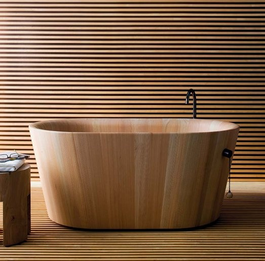 Bathtub Design by Matteo Thun