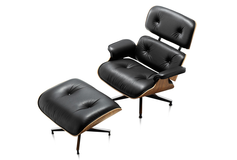 Lounge Chair and Ottoman - Eames